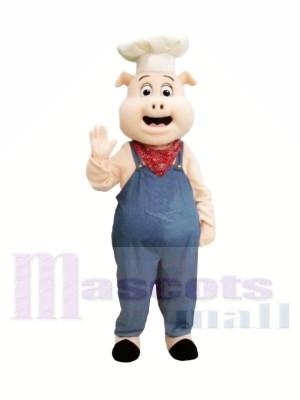 Chef Porc Costumes De Mascotte
