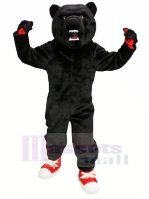 Haute École Noir Ours Mascotte Les costumes Adulte
