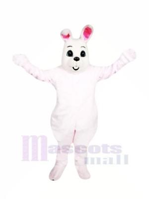 Mignonne Rose Pâques lapin Mascotte Les costumes Pas cher