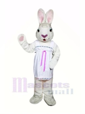 Femelle Pâques lapin Mascotte Les costumes