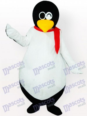 Costume de mascotte adulte pingouin mignon
