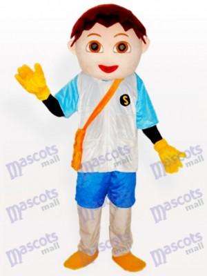 Costume de mascotte de Diego petit garçon de bande dessinée adulte