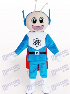 Costume de mascotte adulte Super Man Cartoon