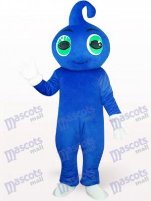 Costume de mignonne bébé bleu mignon