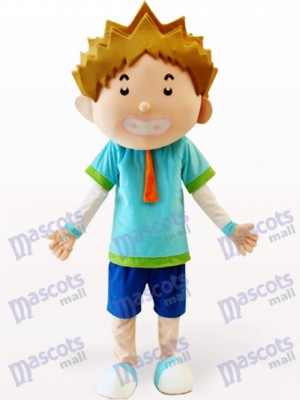 Costume de mascotte adulte Cartoon Smart Boy