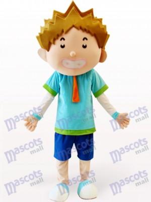 Costume de mascotte adulte Cartoon Smart Boy