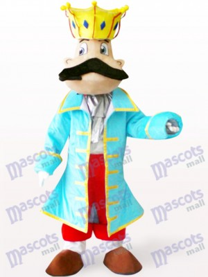 Costume de mascotte adulte King Cartoon