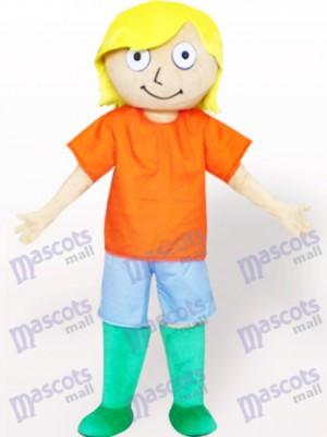 Costume de mascotte adulte de bande dessinée de bottes vertes garçon