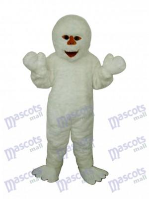 Himalaya Bonhomme de neige Mascotte Adulte Costume Dessin animé Gens