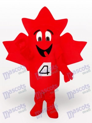 Costume de mascotte adulte de Maple Leaf Plant