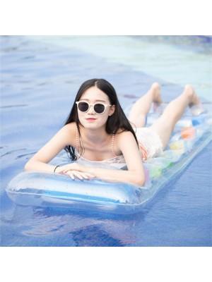 PVC Gonflable Tapis Adulte Flottant Eau Lit Extérieur bassin Plage