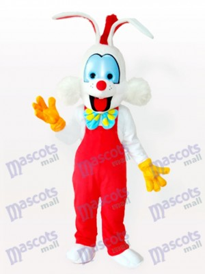 Droll Clown Lapin Costume de mascotte adulte