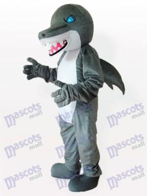 Costume de mascotte adulte Blue Eyes Shark