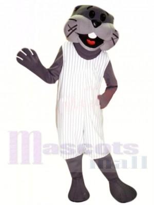Loutre sportive Costume de mascotte