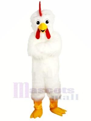 Froussard blanc poulet Mascotte Les costumes Pas cher