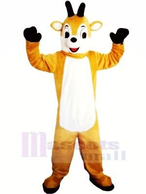 Marrant marron Noël Cerf Mascotte Les costumes Animal