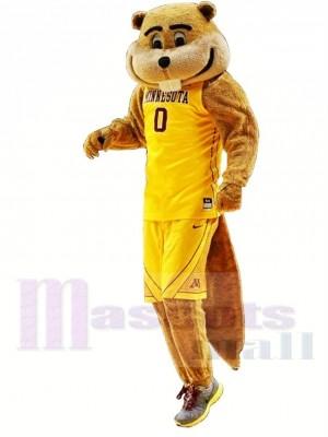 Minnesota d'or Gopher Costume de mascotte
