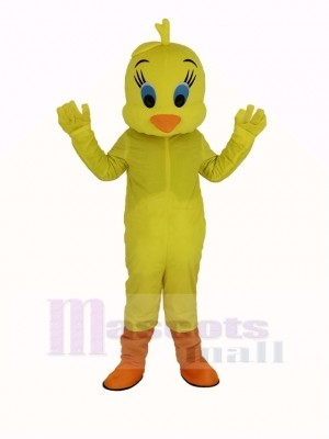 Tweety Looney Mélodies Jaune Oiseau Mascotte Costume Animal