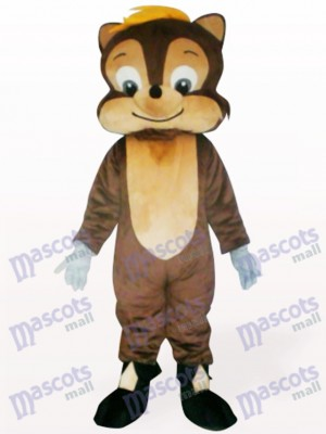 Joli Costume de mascotte adulte animal écureuil