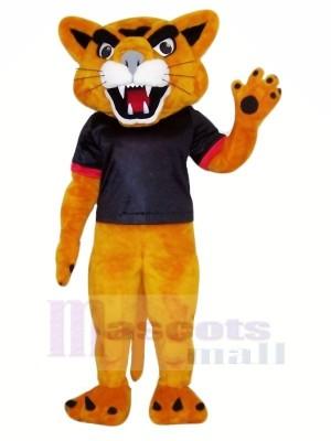 Heureux Puma Mascotte Costume Pas cher