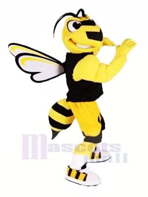 Cool sport abeille Mascotte Les costumes Dessin animé