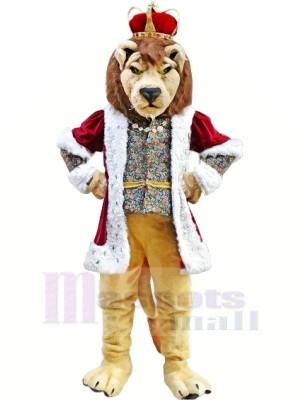 Roi Lion Mascotte Les costumes Adulte