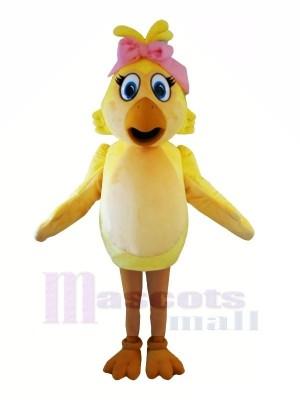 Mode poulet avec Gros Les yeux Mascotte Les costumes Animal