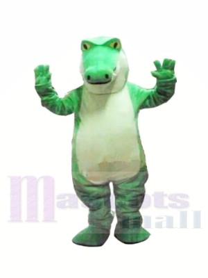 Féroce vert Alligator Mascotte Les costumes Animal