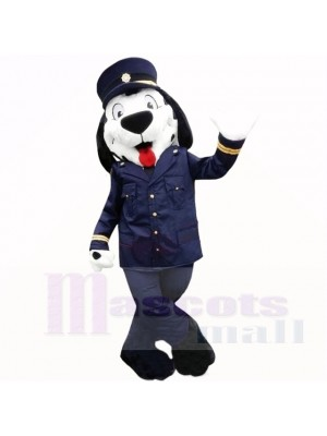 Uniforme de police chien mascotte costumes bande dessinée