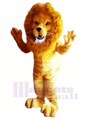 Puissance Poids léger musculaire Lion Mascotte Les costumes Adulte