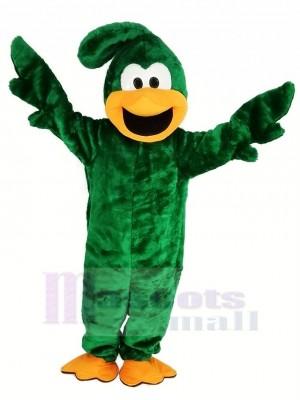 vert Roadrunner Oiseau Mascotte Costume
