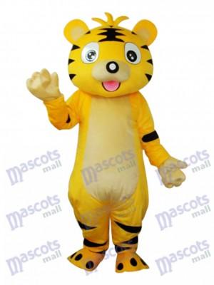Costume de mascotte petit tigre pour adultes