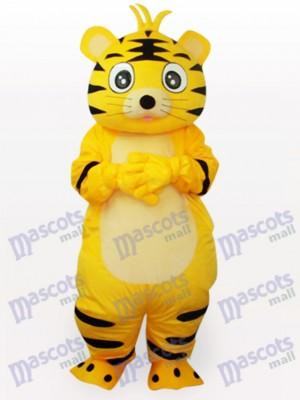 Costume drôle de mascotte adulte animal tigre intelligent