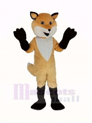 Drôle marron Renard Mascotte Costume