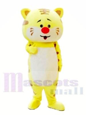 Roi tigre mignon Costumes De Mascotte
