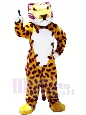 Féroce marron Jaguar Mascotte Les costumes