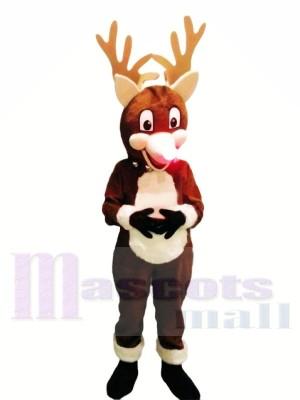 Noël Renne Costumes De Mascotte