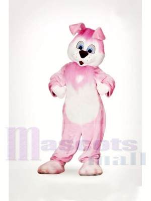 Mignonne Rose lapin Mascotte Les costumes Animal