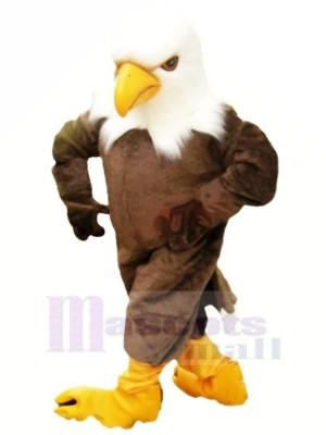 Liberté marron Aigle Mascotte Les costumes Dessin animé