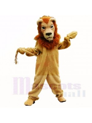 marron Glorieux Lion Costumes De Mascotte Adulte