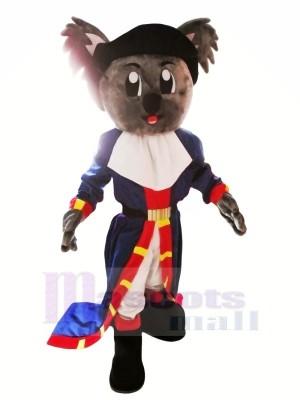 Pirate Koala Mascotte Les costumes Dessin animé