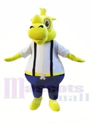 Rhinocéros jaune Costumes De Mascotte