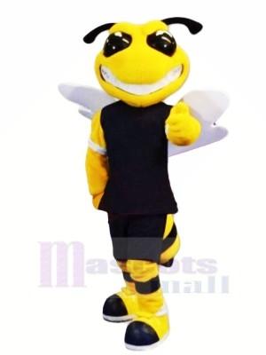 Puissance sport abeille Mascotte Les costumes Dessin animé