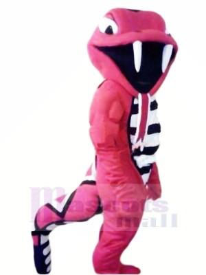 Féroce rouge Cobra Mascotte Les costumes