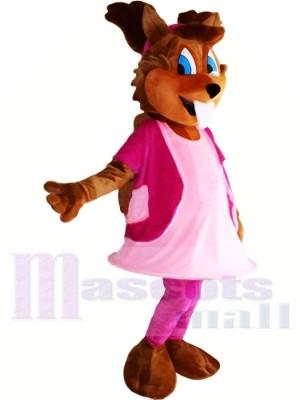 Fille écureuil Costumes De Mascotte