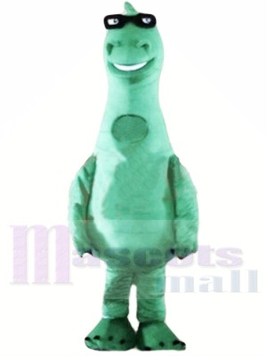Mignonne Poids léger Dinosaure vert Costumes De Mascotte