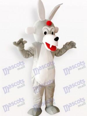 Costume de mascotte adulte animal de bois de loup de Timber