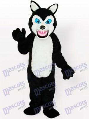 Costume de mascotte adulte Little Black Wolf Type A Mis à jour
