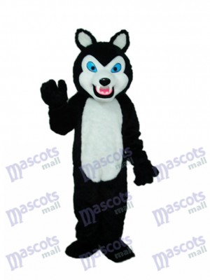 Dents Sharp Loup Mascotte Costume Animal