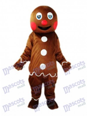 Gingerbread Man Mascotte Costume adulte Noël Xmas